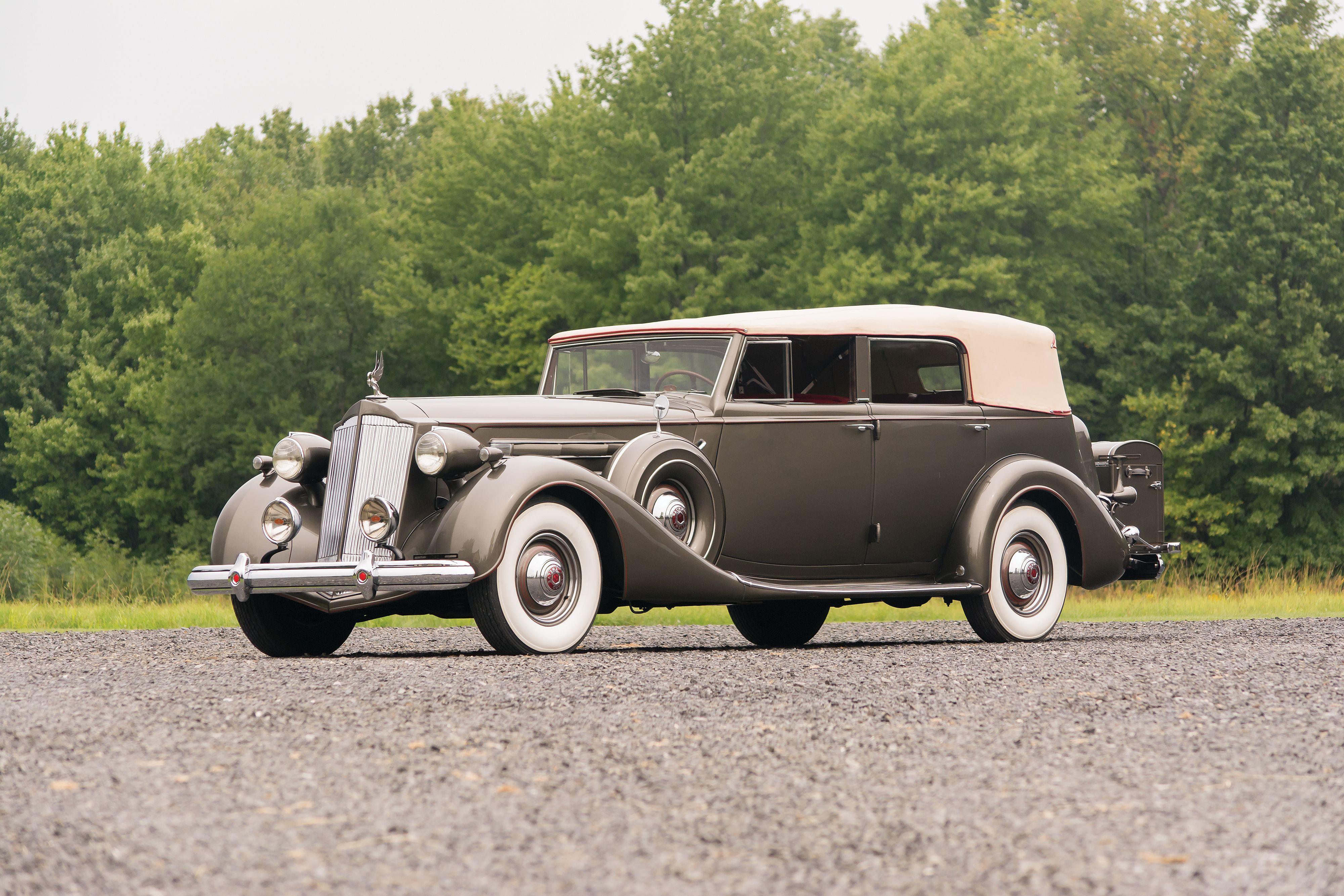 1937 Packard Twelve Convertible Sedan by Dietrich (1508-1073)