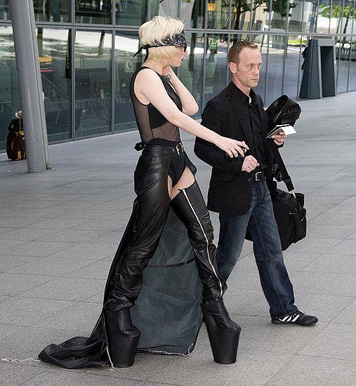 12'' inch heels   Lady gaga shoes