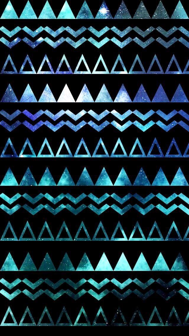 Fantastic Galaxy Aztec Iphone Wallpapers : Collection : 20 Wallpapers