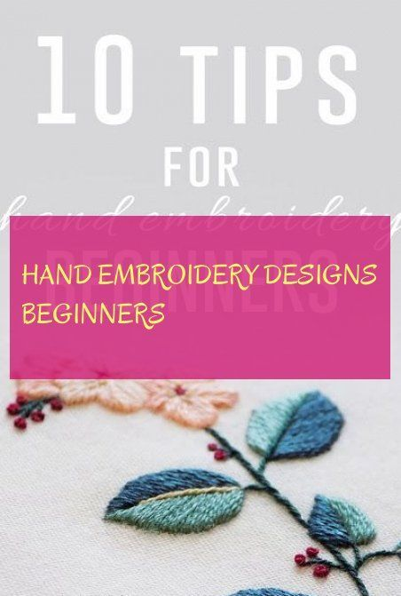 Handstickmotive Anfanger Hand Embroidery Designs Beginners Handstickmoti Embroidery Desing Ideas