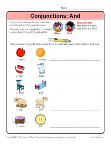 Conjunctions: And | Speech & SPED: Answering & Asking Questions
