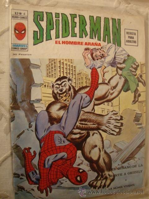 VERTICE MARVEL MUNDI COMIC SPIDERMAN SPIDER-MAN VOL.2 Nº 4 - RQ MUY DIFICIL MUY BUEN ESTADO