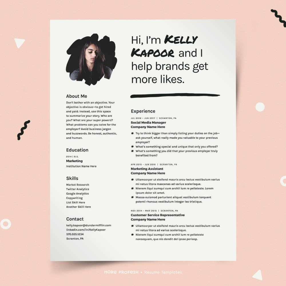 What To Include On A Sorority Resume Social Resume Sorority Resume Recruitment Resume