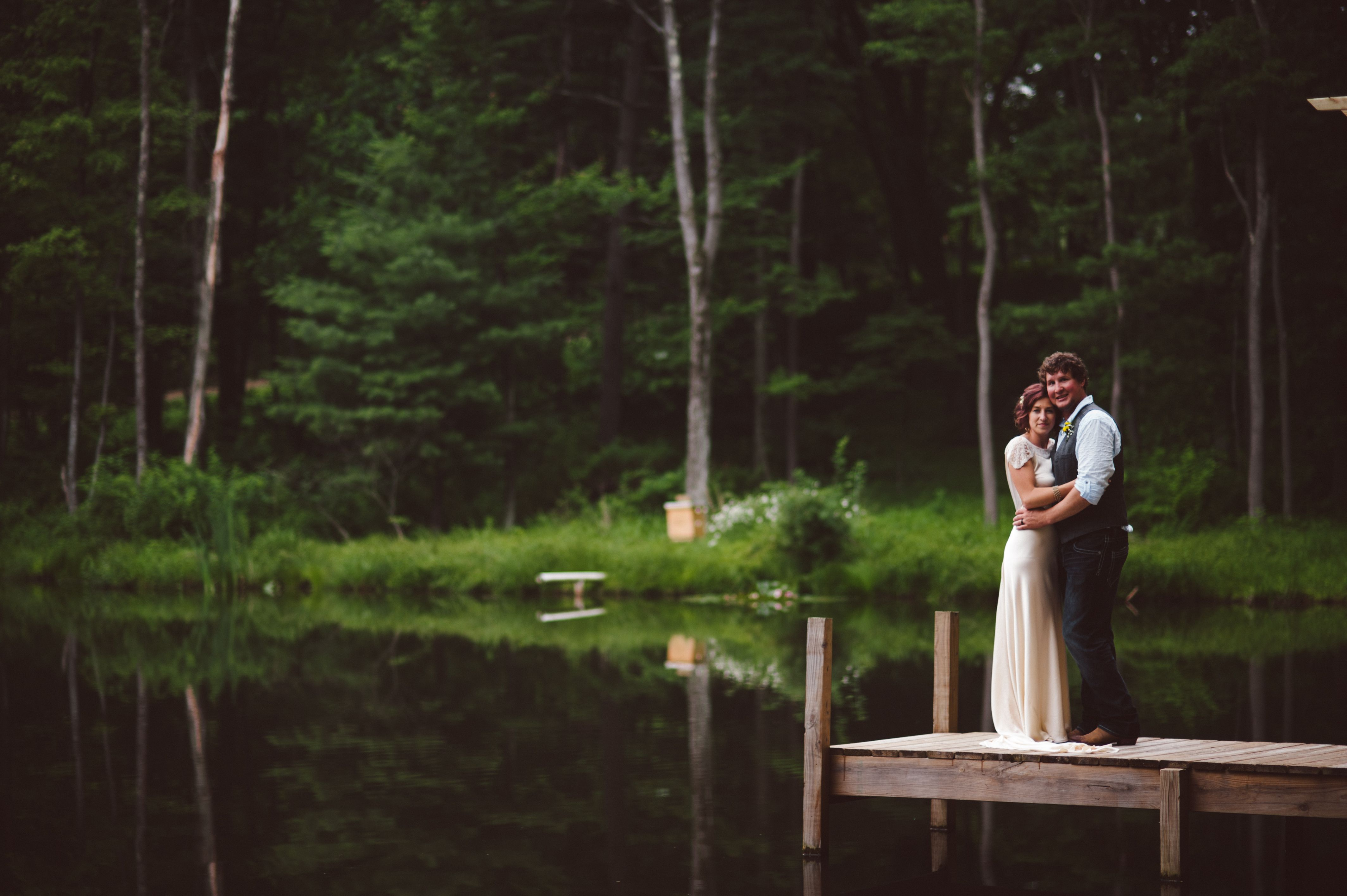 The Pond www.TheMohicans.Net (With images) | Barn wedding ...