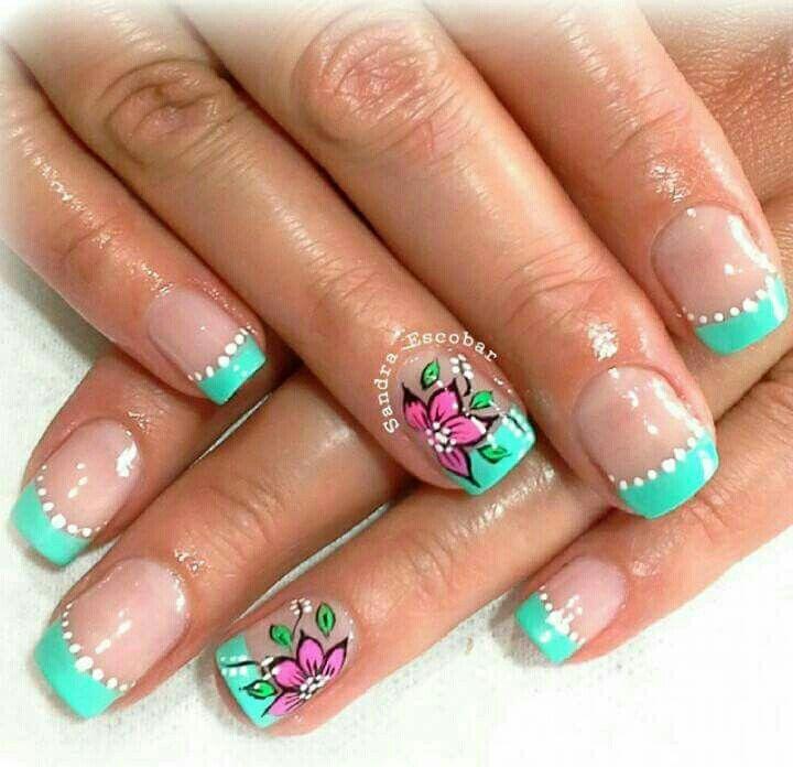 Idea de Lorena Londoño en Nails | Uñas bellas decoradas ...