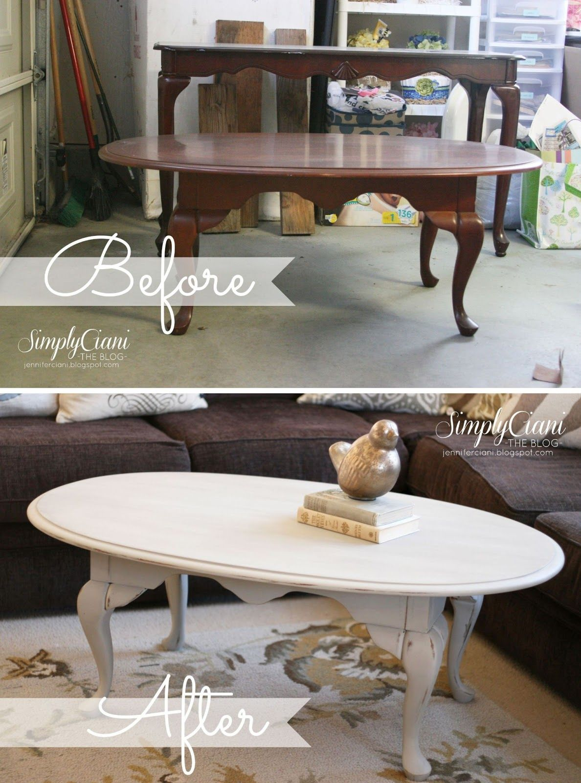 Painted Coffee Table Antique Grey Coffee Table Distressed Coffee Table Shabby Chic Idea
