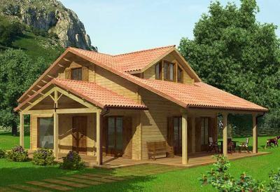 Imagenes de casas de campo google search casas - Casas rurales prefabricadas ...