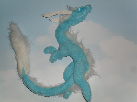 Asian Spirit / Sky Dragon Plush by GameGuardians on Etsy, $22.00