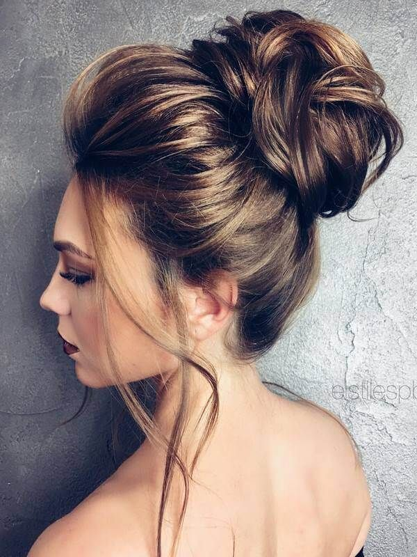 50 Adorable Bun Inspirations That Are Total Lifesavers Bun Hairstyles For Long Hair Hair Styles Hairstyle