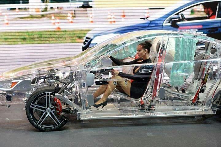 Transparent Car Car Weird Cars Car Show