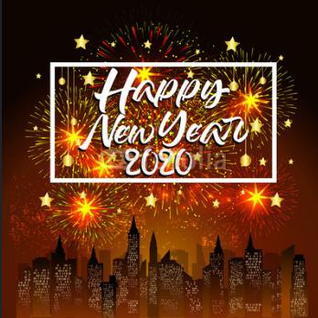 Happy New Year 2020 Happy New Year In Thailand New Year Status Happy New Year Hd Happy New Year Fireworks Happy New Year 2020
