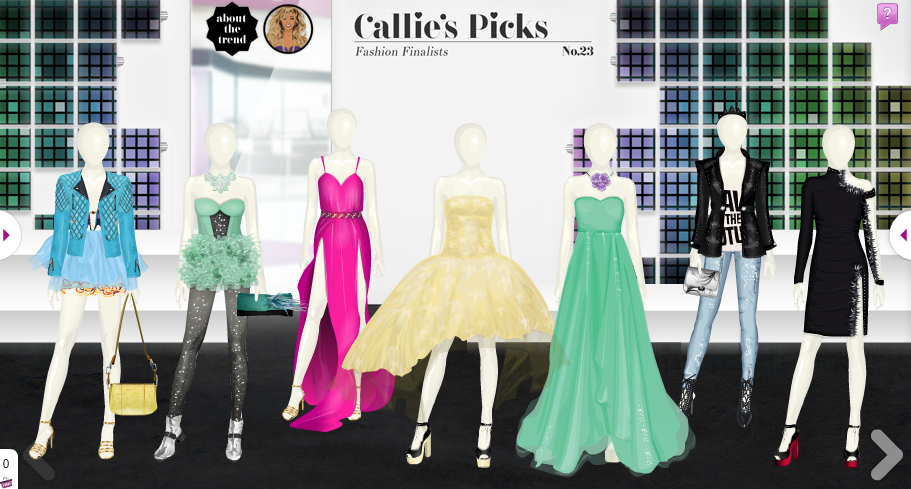 Callie's Picks No 23 - Fashion Finalists is out! #Stardoll