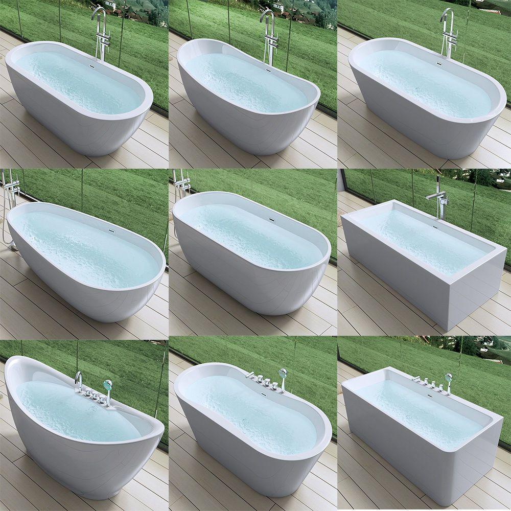Badezimmer dekor rund um die wanne freistehende luxus badewanne