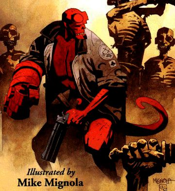 Hellboy – I love the comic and I actually like the movie.