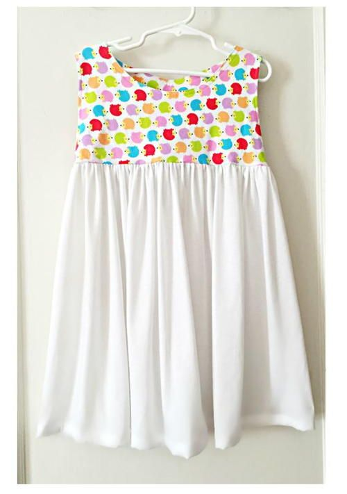 Sweet and Simple Girls Dress Pattern | Sew and Sew - For Children ...