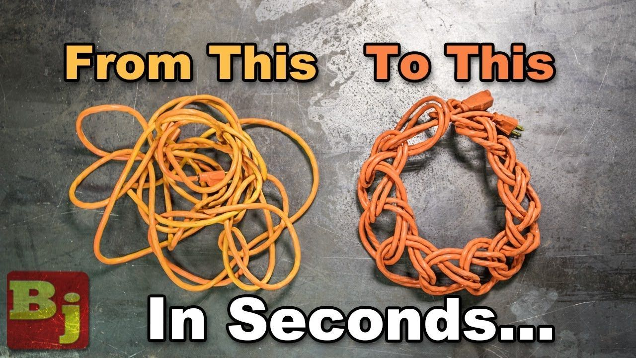 how to run power to a shed with an extension cord