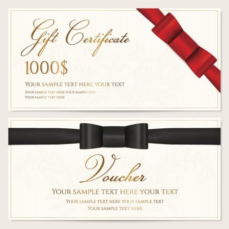 Sample Wordings for Gift Certificates You\'ll Want to Copy Now | Gift ...