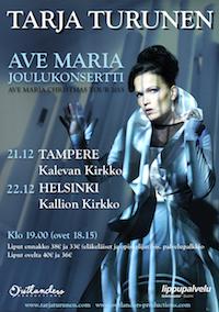 Kallion kirkko Christmas concert, Tarja turunen, Dolores