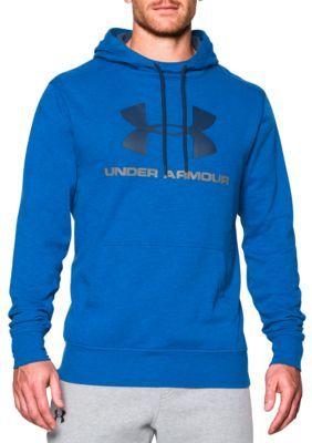 Under Armour RoyalMidnight Navy Sportstyle Fleece Graphic Hoodie