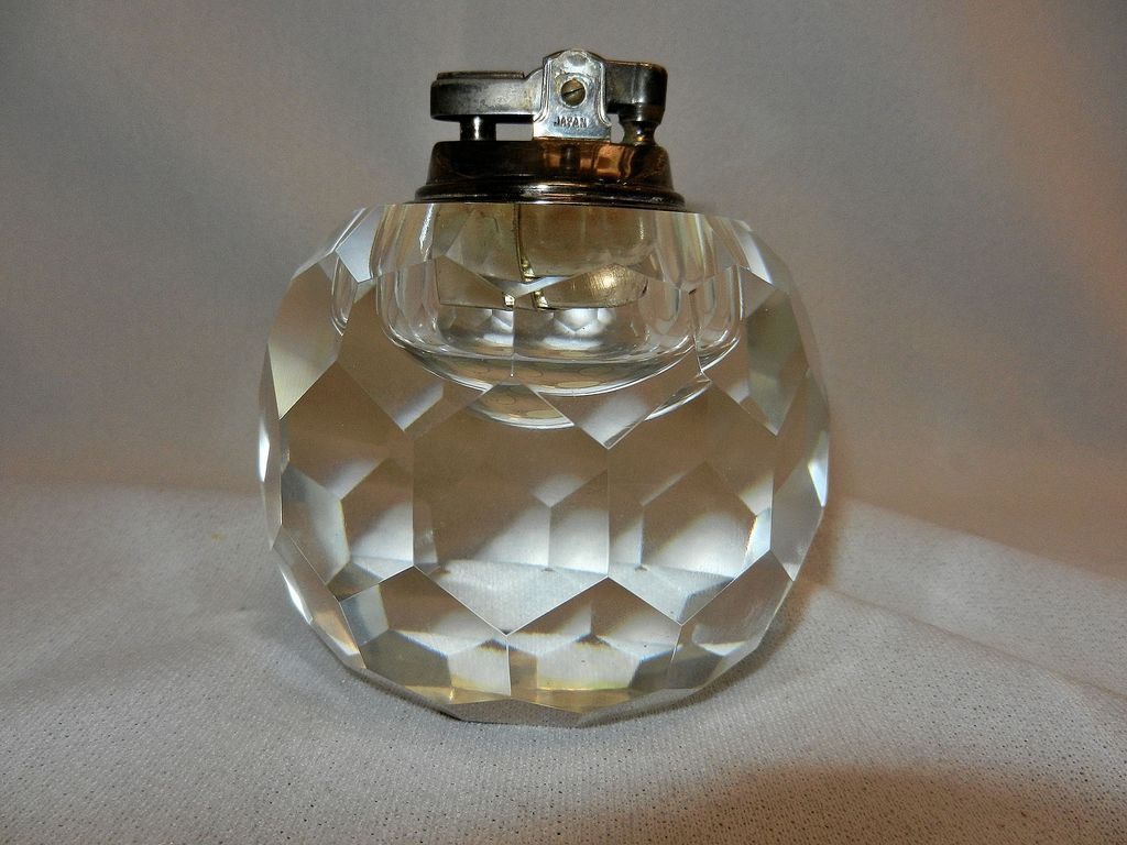 Vintage Crystal Table Lighter Vintage Crystal Light Table Vintage