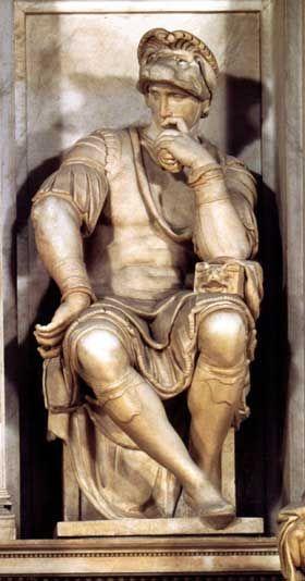 Tomb Of Lorenzo De Medici Michelangelo Buonarroti Michelangelo Sculpture Michelangelo Classic Sculpture