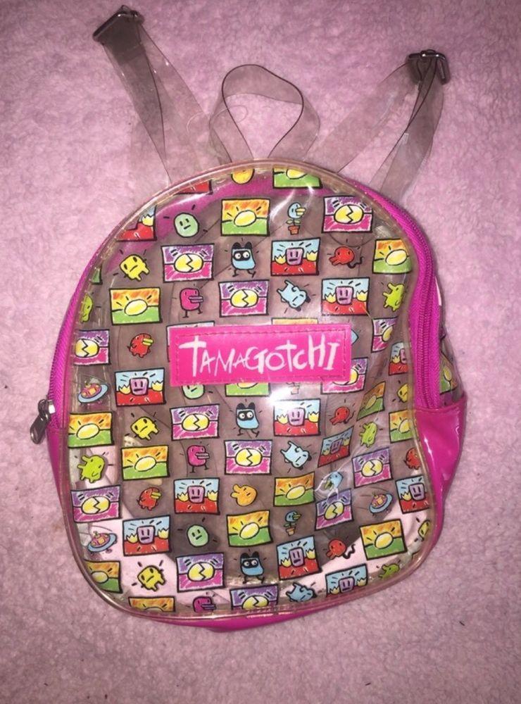 36818bb2f tamagotchi clear vintage mini backpack | eBay Mini Backpack, Jansport  Backpack, Backpack Bags,