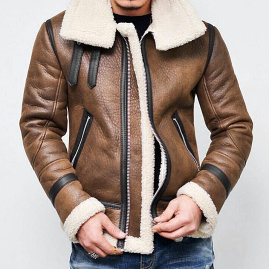 Bruiser Bomber Jacket Faux Leather Jacket Men Winter Jacket Men Best Winter Jackets [ 900 x 900 Pixel ]
