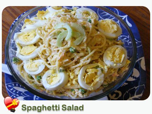 Spaghetti Noodle Salad