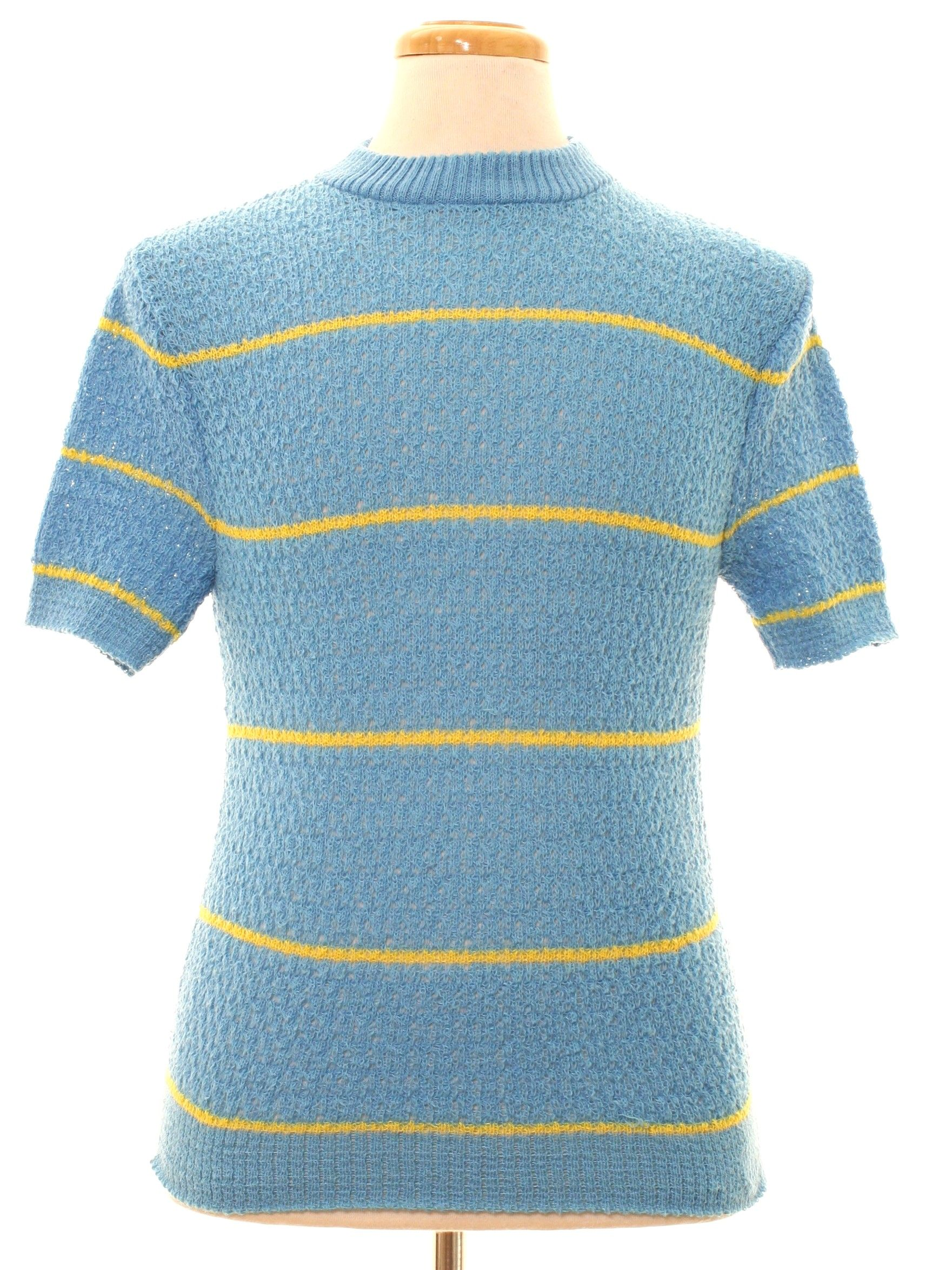 Birchwood Knitwear Sixties Vintage Knit Shirt: 60s -Birchwood ...