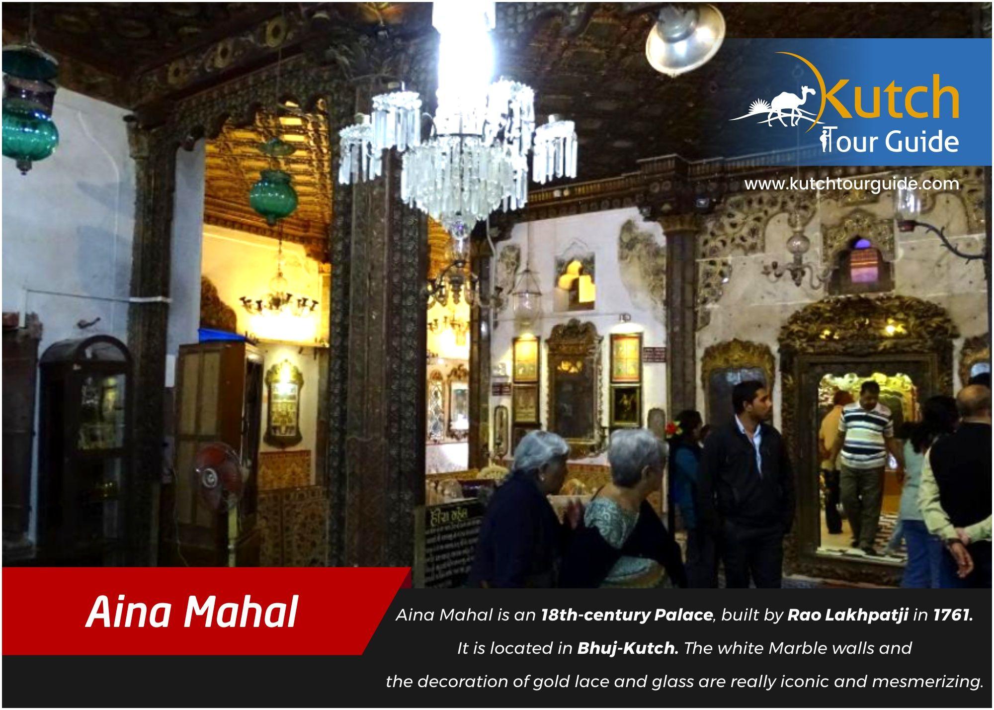 Aina Mahal The Mirrored Palace of Bhuj Palace, Bhuj