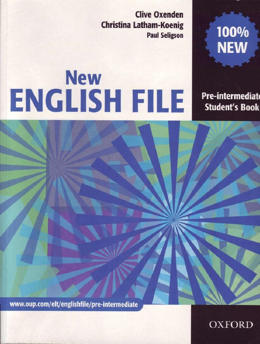 New English File Pre Intermediate Student S Book Pdf Teacher Books Workbook English File