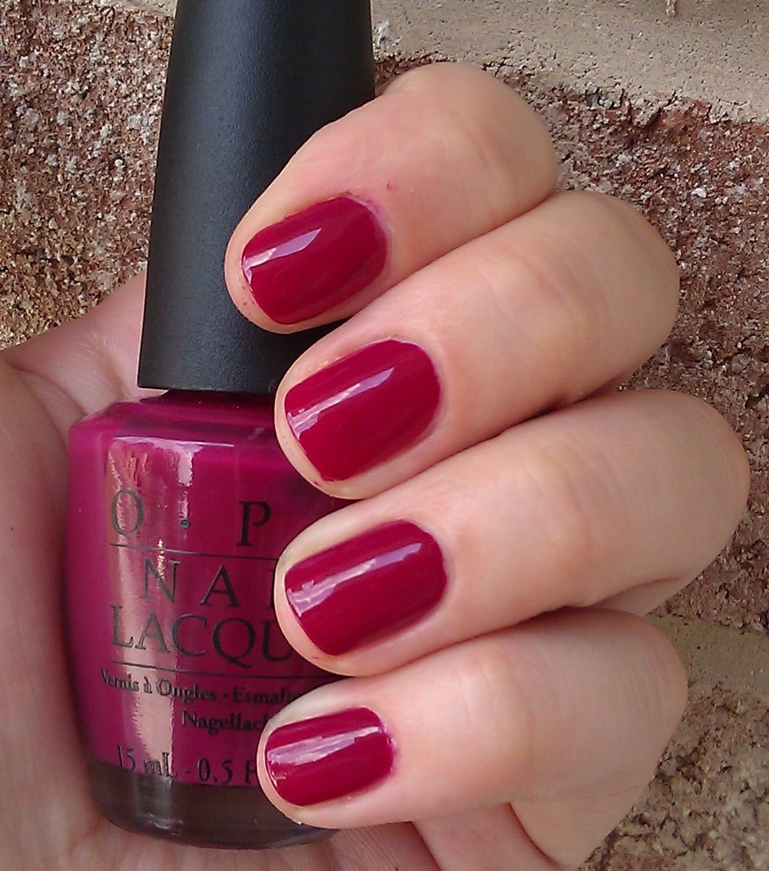Polish or Perish: A polish for all seasons - OPI Miami Beet | Nails ...