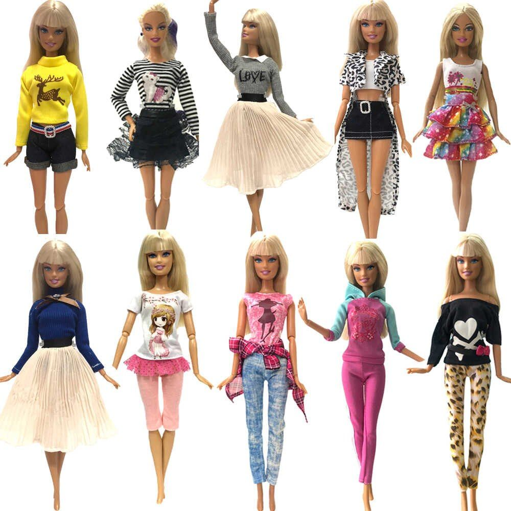 New Handmade For Barbie Casual Wear For Barbie Clothes For Barbie Dress Jewelry