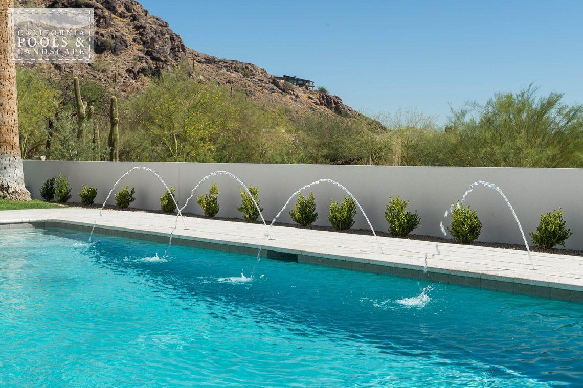 Arizona in ground swimming pool builders deck jets - Swimming pool builders california ...