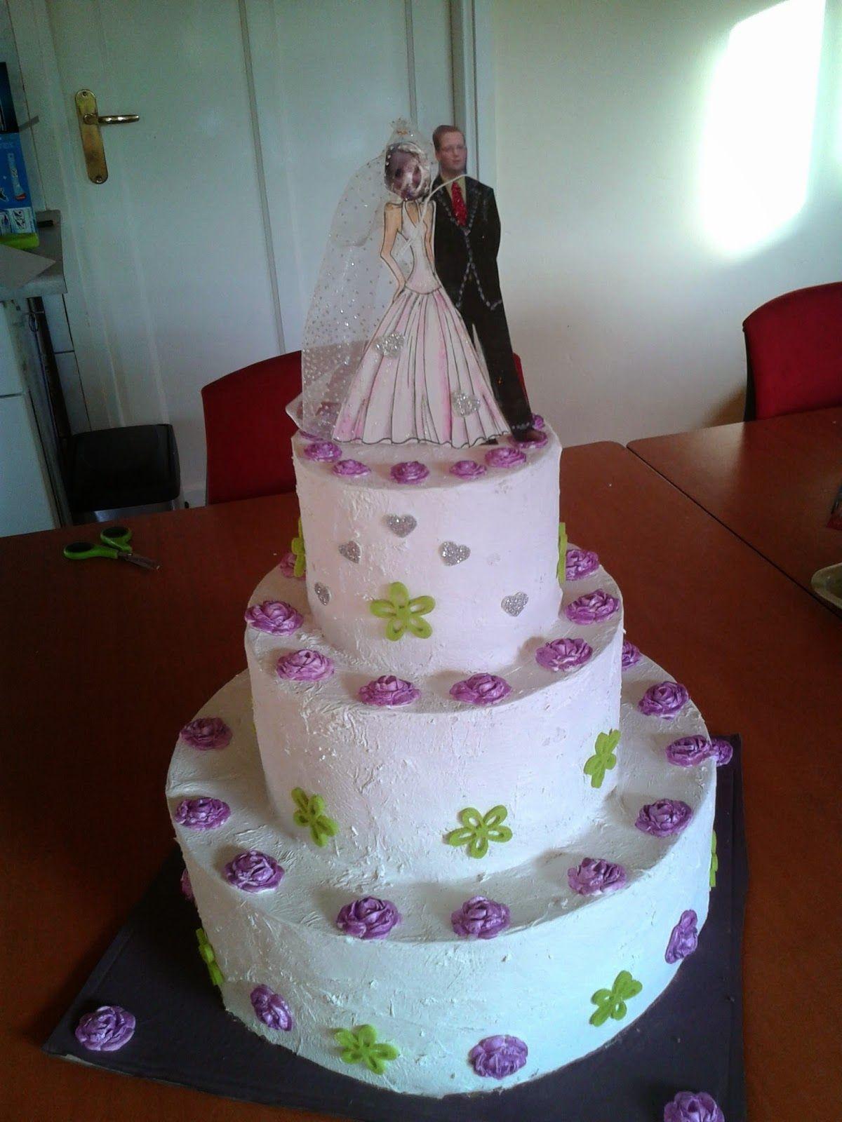 Welkom Op Anja S Blog Surprise Een Bruidstaart Bruidstaart Knutselen Bruiloft Taart Bruiloft