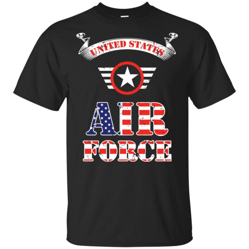 Us Air Force Cool Fancy Stripe Unisex Short Sleeve