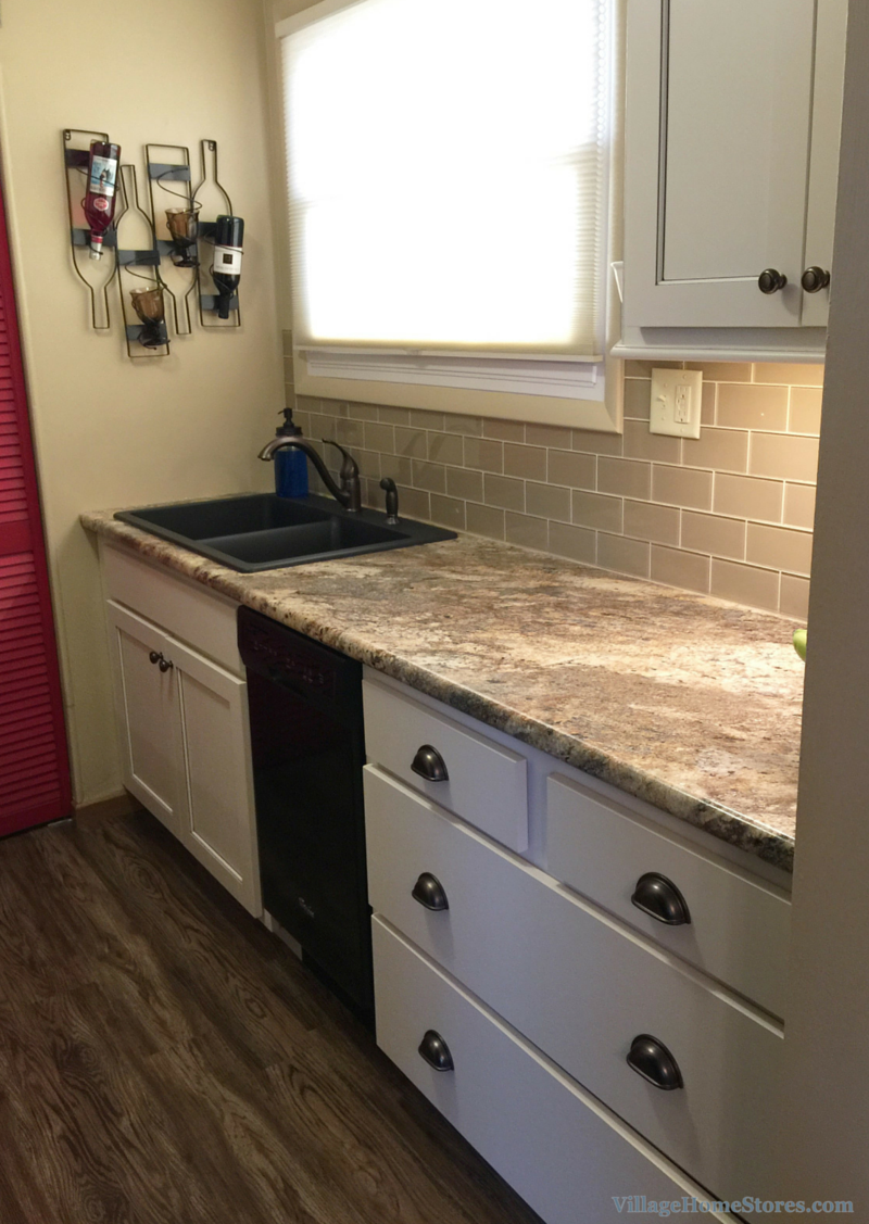 Small kitchen remodel in Moline IL managed