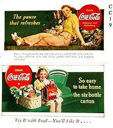 1940's Coke ad
