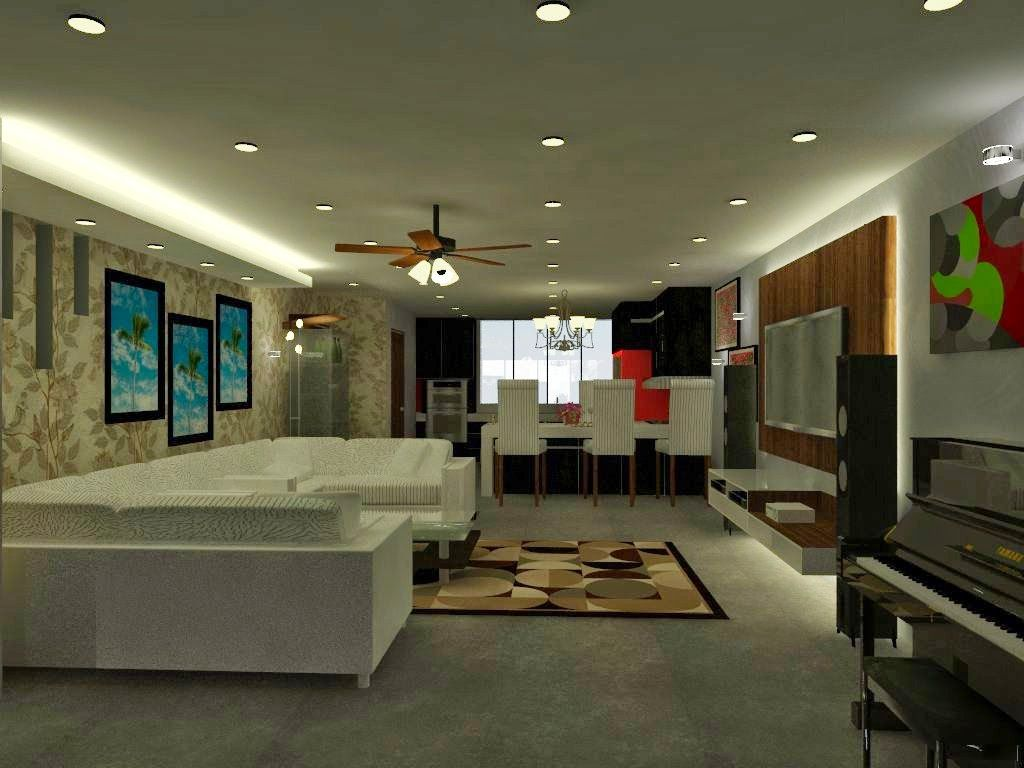 19 awesome interior design double storey house malaysia for House design inside