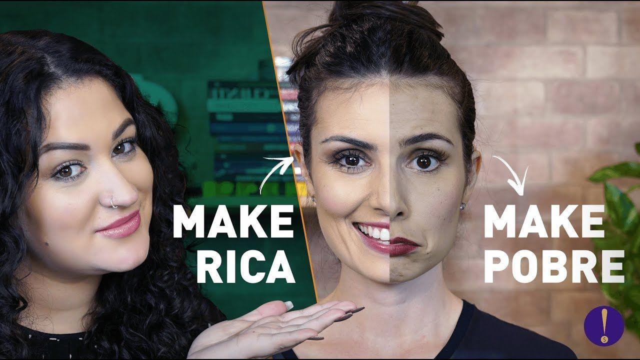 Make De Rica X Make De Pobre Com Maquiagem De Farmacia Feat Duda