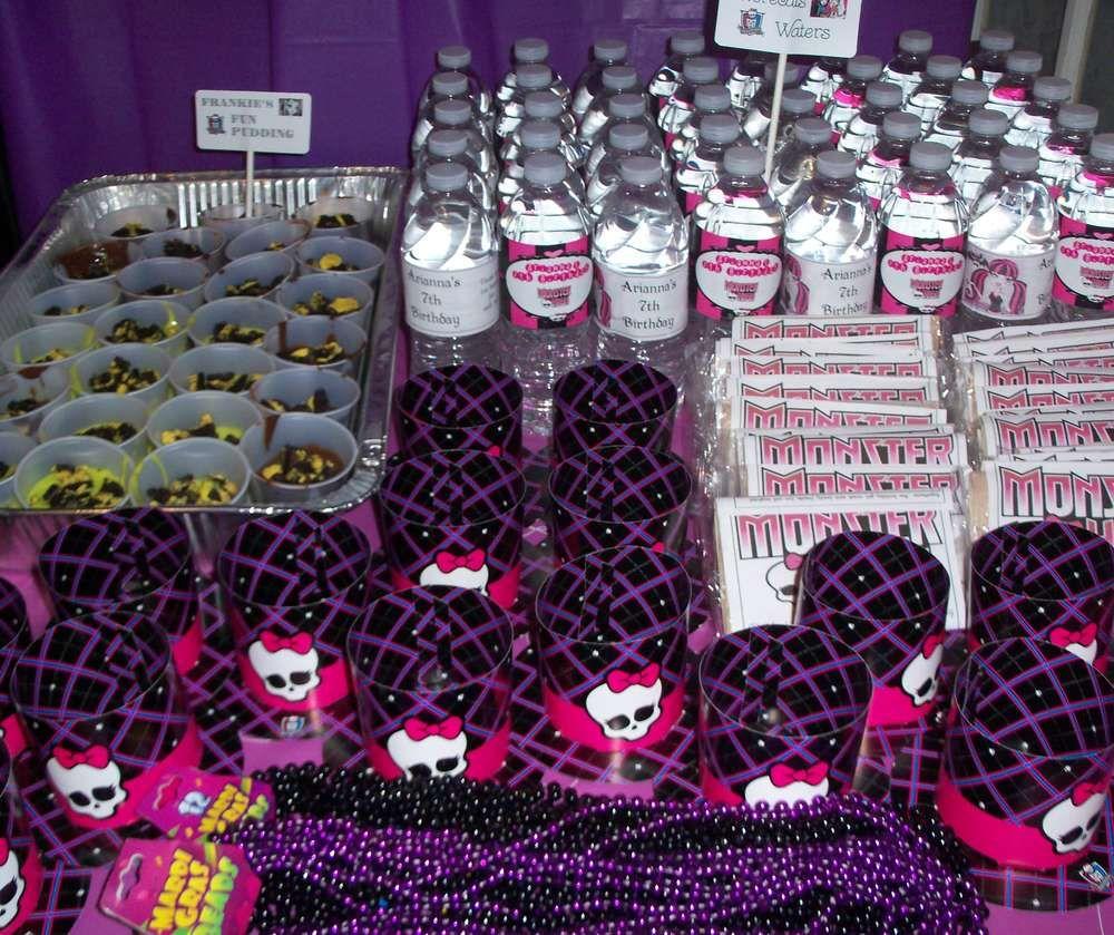 Monster High Birthday Party Ideas   Monster high birthday, Monster ...
