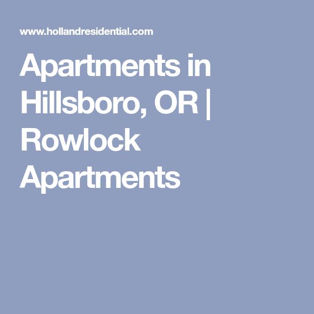 Apartments In Hillsboro, OR
