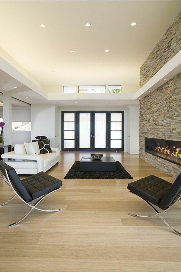 Schlichte Beleuchtung im Wohnzimmer #deko #dekoration - dekorationsideen wohnzimmer bilder