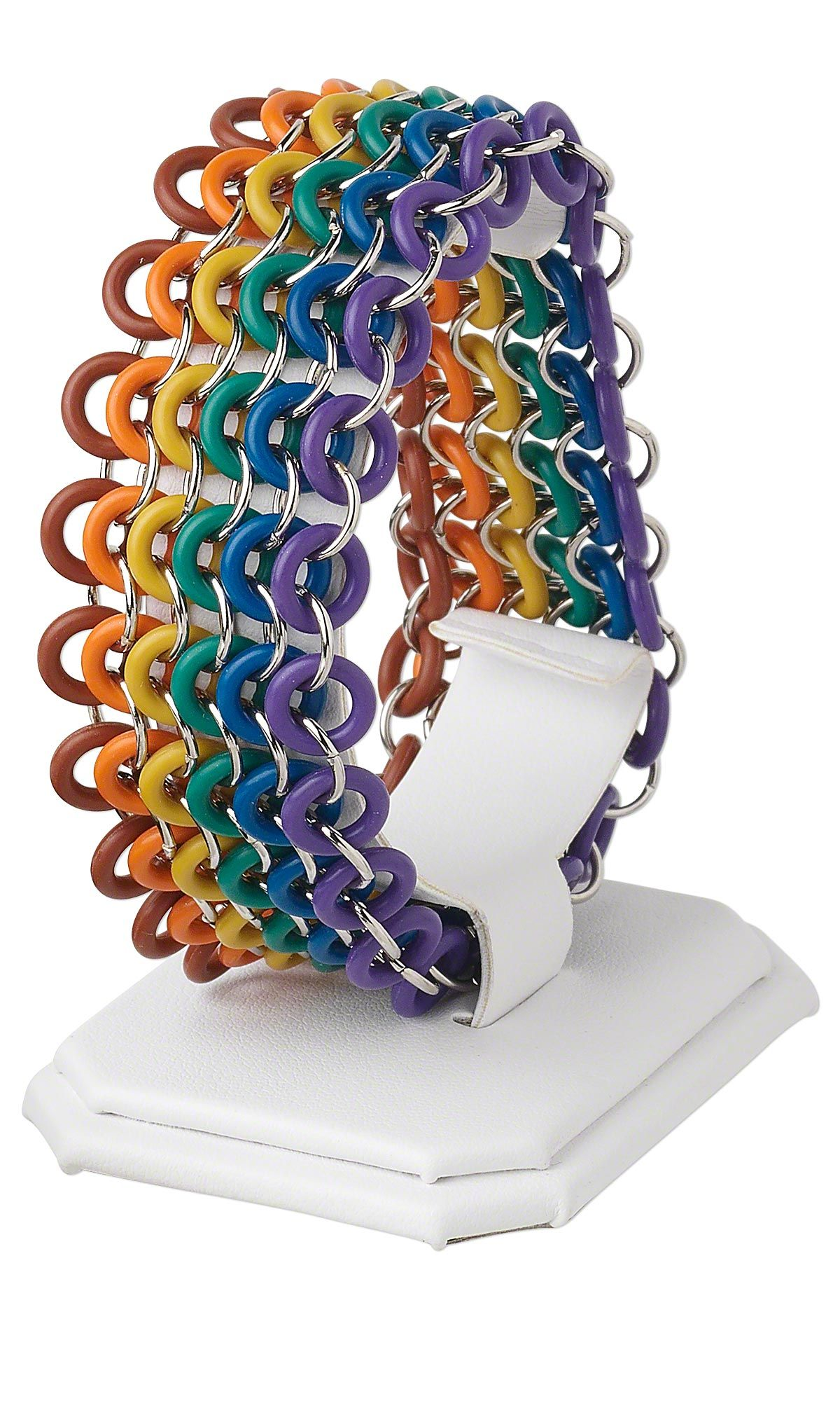 Jewelry design multistrand bracelet with oh ring rubber
