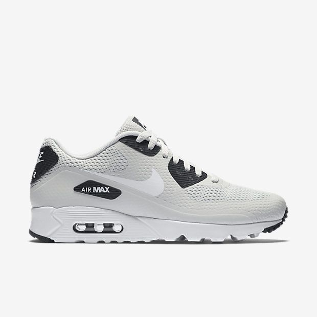 more photos fca60 11b9c Nike Air Max 90 Ultra Essential Men s Shoe features no-sew overlays for a  supportive,…