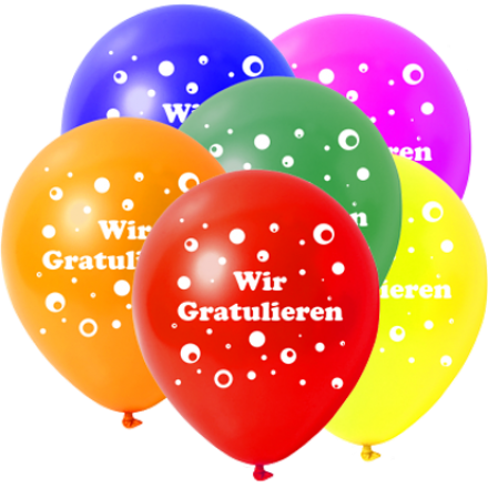 "Latex-Luftballons Ø 30cm 10 Stk Zahl /""20/""  Ballons Geburtstag Jubiläum"