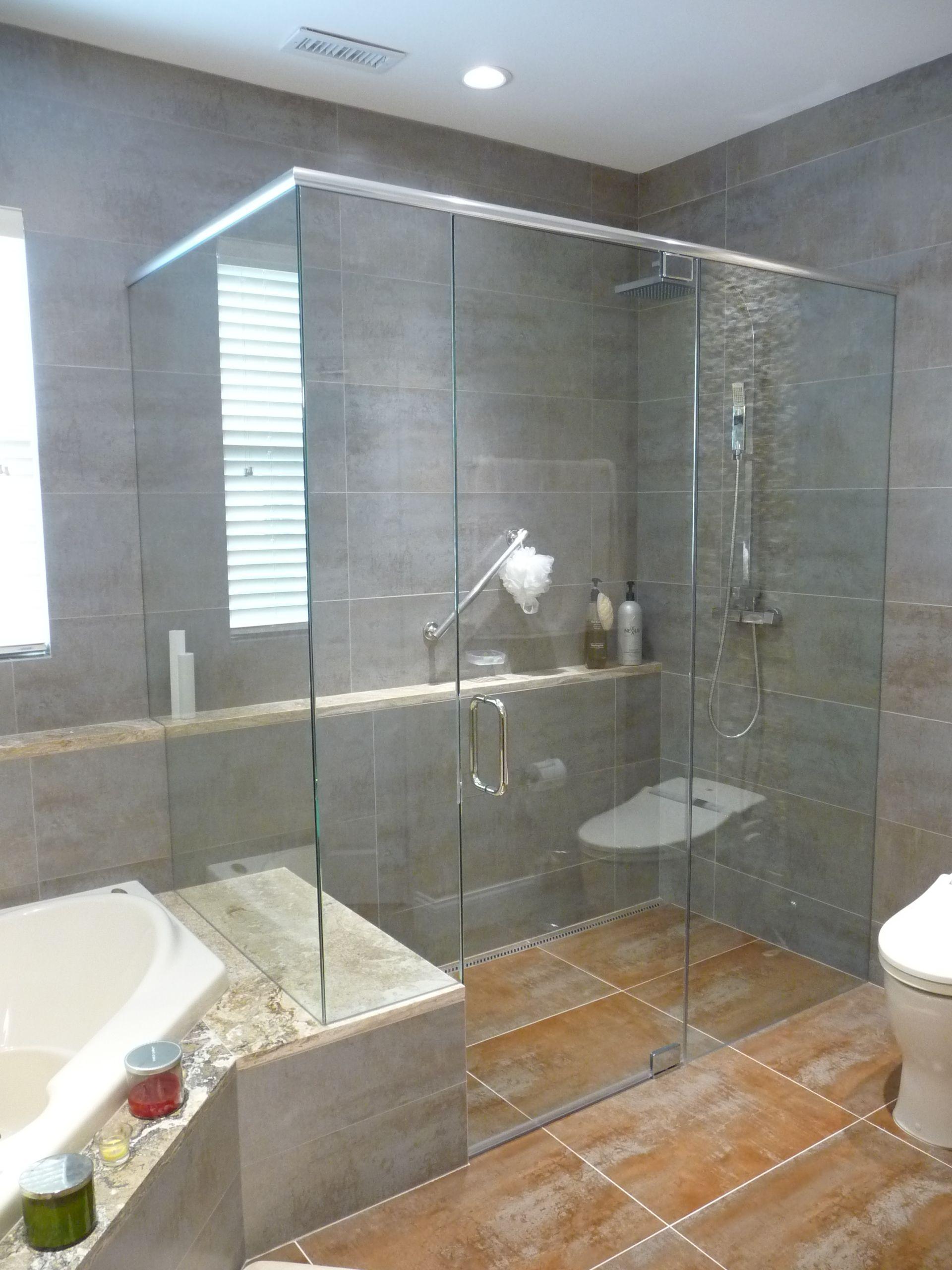 Modern stone bathroom - Modern And Accessible Contemporary Bathroom Philadelphia Stonemar Natural Stone Company Llc