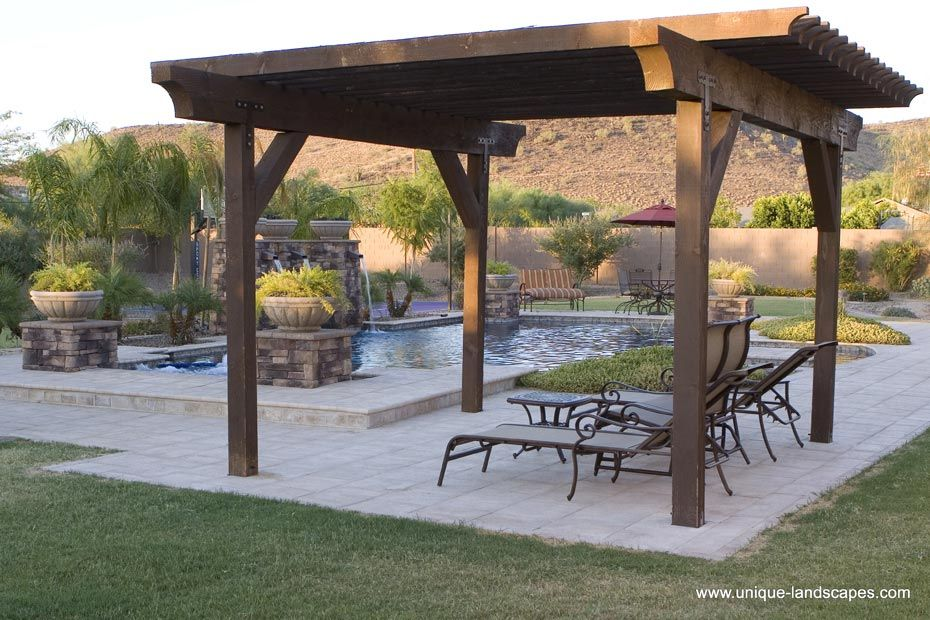 Ramada design plans goals and health aspirations for Southwest pergola