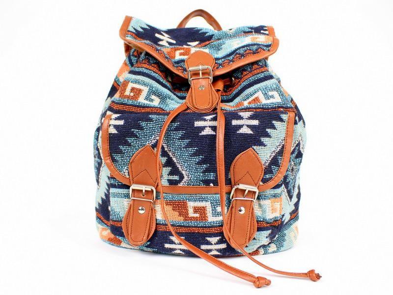 Aztecki Plecak Blogerki Vintage Primark Atmosphere 4061864573 Oficjalne Archiwum Allegro Stylish Backpacks For Men Trendy Backpacks Aztec Backpacks
