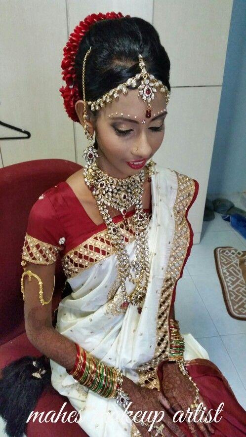 Bride Bavani Indian Wedding Bridal Makeup And Hair South